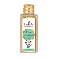 Just Herbs I Mint Green Tea-Vetiver Nourishing And Toning Pack