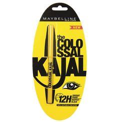 Maybelline The Colossal Kajal 12Hour Smudge Proof - Deep Black