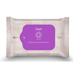 Kaya Refreshing Mattifying Wipes (Pack Of 30)