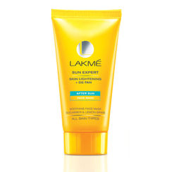 Lakme Sun Expert Skin Lightening + De Tan After Sun Face Mask