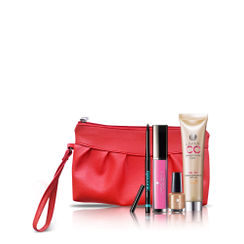Lakme Absolute Gloss Stylist Lip Gloss + Gel Stylist Nail Polish + Eyeconic Kajal + Complexion Care Cream