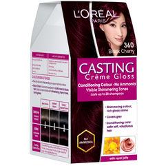 LOreal Paris Casting Creme Gloss Hair Color - 360 Black Cherry