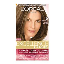 LOreal Paris Excellence Creme Hair Color - 6A Light Brown