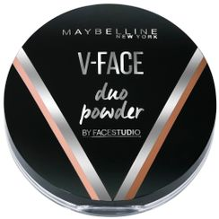 Maybelline New York V-Face Duo Powder - Medium Dark