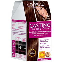 LOreal Paris Casting Creme Gloss Hair Color - 535 Chocolate