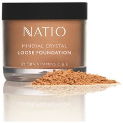 Natio Mineral Crystal Loose Foundation Beige