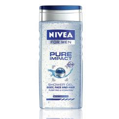 Nivea For Men Pure Impact Shower Gel