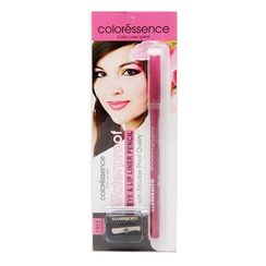 Coloressence Eye & Lip Liner Pencil - Fuschia Pink + Free Sharpener