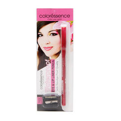 Coloressence Eye & Lip Liner Pencil - Red Passion + Free Sharpener