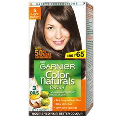 Garnier Color Naturals - 5 Light Brown (Rs. 15 off)