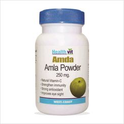 HealthVit Amda Amla Powder 250 mg (60 Caps)
