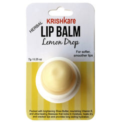 Krishkare Herbal Lemon Drop Lip Balm