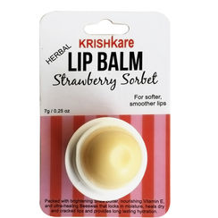 Krishkare Herbal Strawberry Sorbet Lip Balm