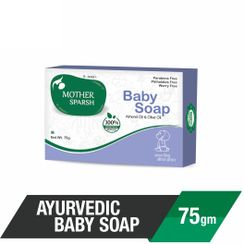 Mother Sparsh Ayurvedic Almond & Olive Oil Baby Soap