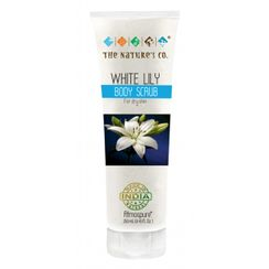 The Natures Co. White Lily Body Scrub