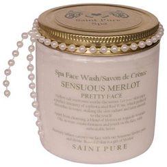 Saint Pure Spa Sensuous Merlot Wine Spa Face Wash