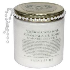 Saint Pure Spa Champagne & Roses Romantic Beauty & Spa Face Scrub