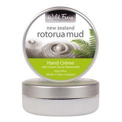 Wild Ferns Rotorua Mud Hand Creme With Green Tea & Chamomile