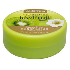 Wild Ferns Kiwifruit Sweet Treat Sugar Scrub