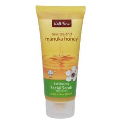Wild Ferns Manuka Honey Exfoliating Face Scrub