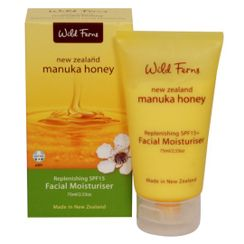 Wild Ferns Manuka Honey Replenishing SPF15 Facial Moisturizer