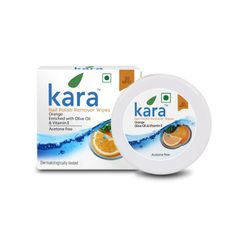 Kara Nail Polish Remover Wipes Orange