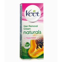Veet Naturals Hair Removal Cream with Papaya Extracts