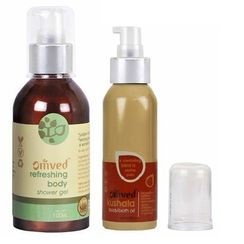 Omved Refreshing Body Shower Gel Buy 2 + Get Omved Kushala Body & Bath Oil Free