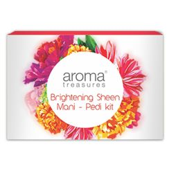 Aroma Treasure Brightening Sheen Mani - Pedi Kit - Single Time