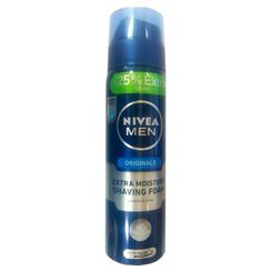 Nivea Men Originals Extra Moisture Shaving Foam + 25% Extra