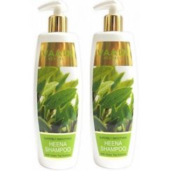 Vaadi Herbals Superbly Smoothing Heena Shampoo With Green Tea Extracts (Buy 1 Get 1 Free)