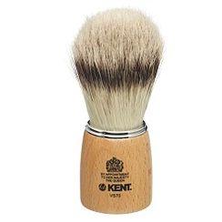 Kent Woodens Socket Large Pure Bristle Badger Effect Shaving Brush