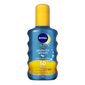 Nivea Sun Protect & Refresh Invisible Cooling Spray SPF 50