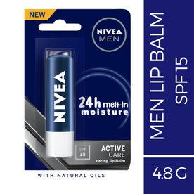 Nivea For Men Active Care Caring Lip Balm - SPF 15