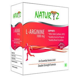 Naturyz L-Arginine Max 1000mg - 60 Capsules