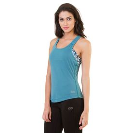 f7ec955c Silvertraq Women's T-Back Top Slate Green