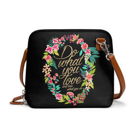 38cc8001ed DailyObjects And Love What You Do - Trapeze Crossbody Bag
