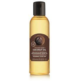The Body Shop Coconut Oil Brillantly Nourishing Pre-Shampoo Hair Oil