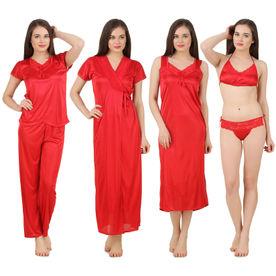 c7d5be4a71 Satin Nighty  Buy Women s Satin Nightwear Set Online in India