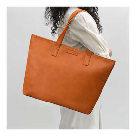 91eec8f626 DailyObjects Tan Faux Leather Fatty Women s Tote Bag
