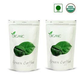 NutraVigour Organic Green Coffee Beans (Decaffeinated & Unro.