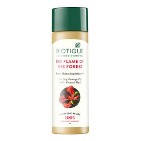 Biotique Bio Flame Of The Forest  Fresh Shine Expertise Oil