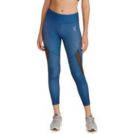 ddc04782b1 Zivame Zelocity Easy Movement Legging - Blue