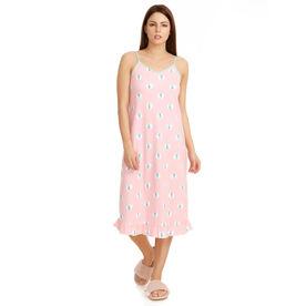 6008d6f1c Zivame Sea Life Short Nighty - Pink N Print