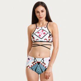 d27ac7eae0 Zivame Padded Bikini Set - Multi Color