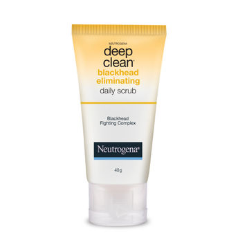 Image result for neutrogena deep clean blackhead eliminating daily scrub image