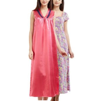 3604c74de1 Blush Nightdress - Buy Blush By Prettysecrets Cotton Lace Trim Night ...
