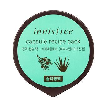 Innisfree Capsule Recipe Pack - Bija & Aloe(10ml)