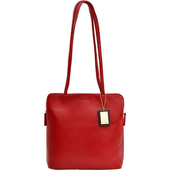 bd5dd9f7a8a2 Hidesign Kirsty Red Shoulder Bag at Nykaa.com