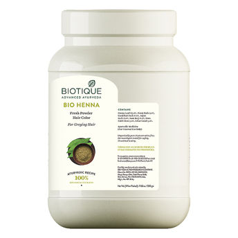 Biotique Hair Color Buy Biotique Bio Henna Fresh Powder Hair Color